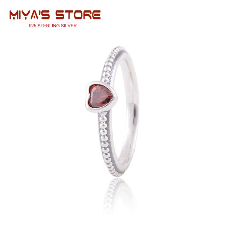 Sterling Silver Jewelry Fashion Ruby Heart Rings Romantic Christmas Love Gift Women Rings 2015 Trendy Wedding 2015 Rip110B<br><br>Aliexpress