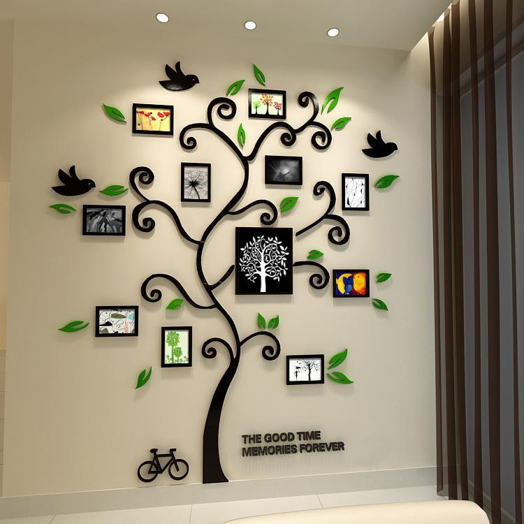 Acheter nouveau 2015 happy tree cadre for Cadre photo mural