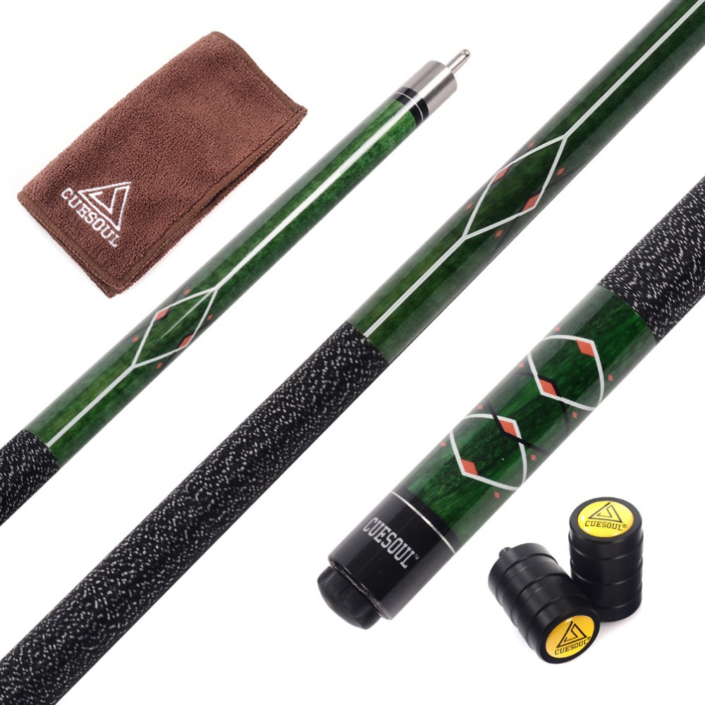 Cuesoul CSPC013 58 inch 1/2 Jointed Pool Cue Stick(China (Mainland))
