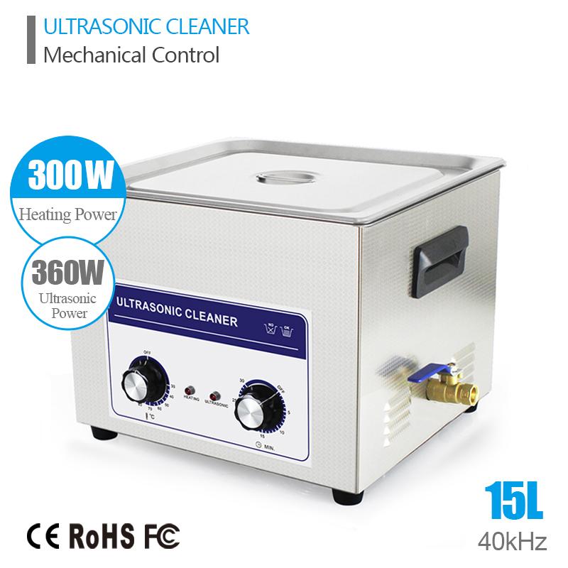 Ultrasound Injector Cleaning Transducer Machine Ultrasonic Baby Bottle Washer 360W 40kHz 15L Ultrasonic Generator Cleaner Bath(China (Mainland))