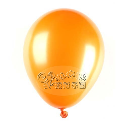 Free Shipping Pearlizing 10 orange balloon birthday party supplies wedding decoration balloon helium balloon(China (Mainland))