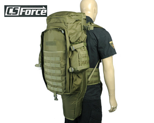 Фотография Airsoft Tactical New Style Molle Extended Full Gear Dual Rifle Backpack Military Paintball Hunting Wargame Nylon Gun Bag Case