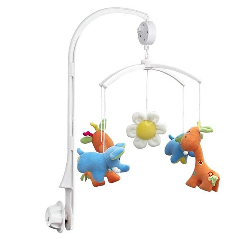 5Pcs Baby Crib Holder DIY Hanging Baby Crib Mobile Bed Bell Toy Holder Arm Bracket(China (Mainland))