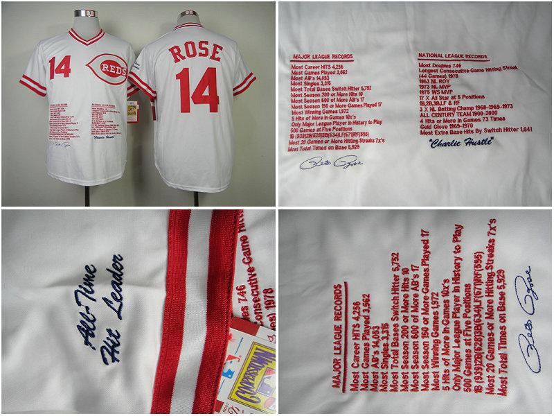 Pete Rose Shirt Cincinnati Reds Shirt 14 Pete