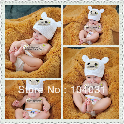 newborn crochet hat pattern made wool hats crochet newborn baby beanie(China (Mainland))