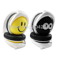 Foldable Cute Face Smile Cry Weep Overhead Boys Girls Kids Children Teens Headphones Headsets for Computer Laptop PC MP3 iPod