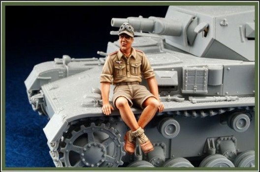 Resin Kits 1/35 WWII German Afrika Corps Rest of armored vehicles Group 1 Free Shipping DIY Toys(China (Mainland))