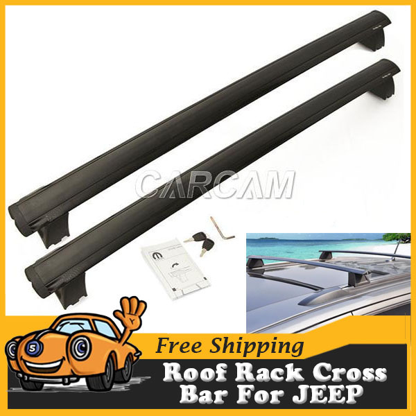 For Jeep Grand Cherokee Roof Rack Cross Bar With Lock System Auto Offroad Luggage Carrier Kit(China (Mainland))