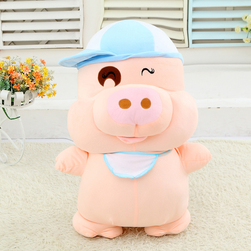Christmas gift lovely cute McDull PIG plush toys soft stuffed animal doll 30cm 1 piece(China (Mainland))