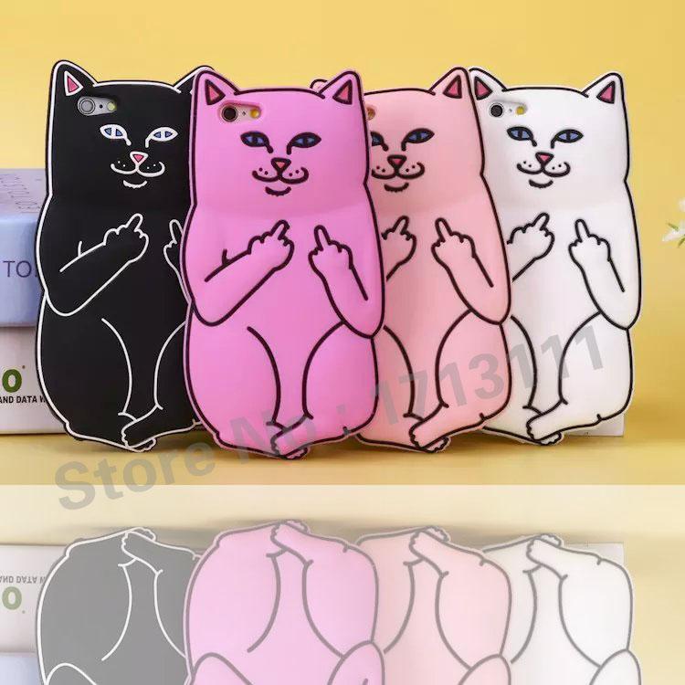 Чехол котик для телефона