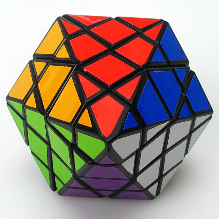 Brand NewDiansheng 8-corner-only Octagonal Pyramid Dipyramid 4x4 Shape Mode Magic Cube Puzzle Toys for Kids happy cherry maze(China (Mainland))
