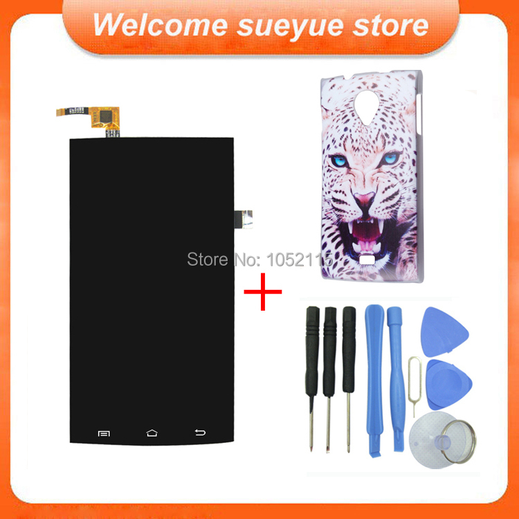 Original Cubot X6 LCD Display And Touch Screen Assembly For Cubot X6 Android 4.4 Version Free Shipping + Tools + Plastic Case