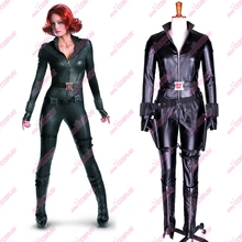 The new 2016 Free shipping The Avengers Of Natasha Romanoff / Black Widow Cosplay Custom-made in any size