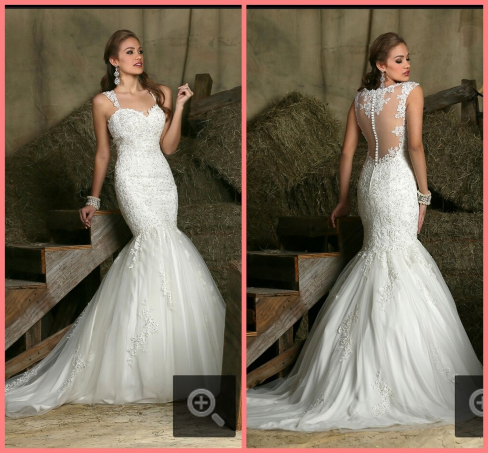 Buy winter winter glamorous mermaid ivory for Winter style wedding dresses