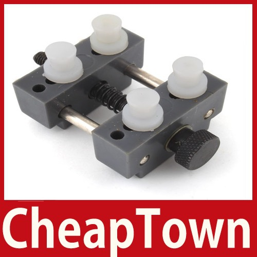excellent fancy [CheapTown] Adjustable Watch Movement Holder 4 Pins Repairing Tool Save up to 50% worldwide economically(China (Mainland))