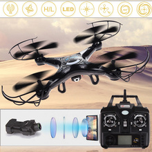 New Arrival X8 2.4Ghz 6-Axis Gyro RC Quadcopter Drone UAV RTF UFO with 2MP HD Helicopters with Camera Free Shipping INGT