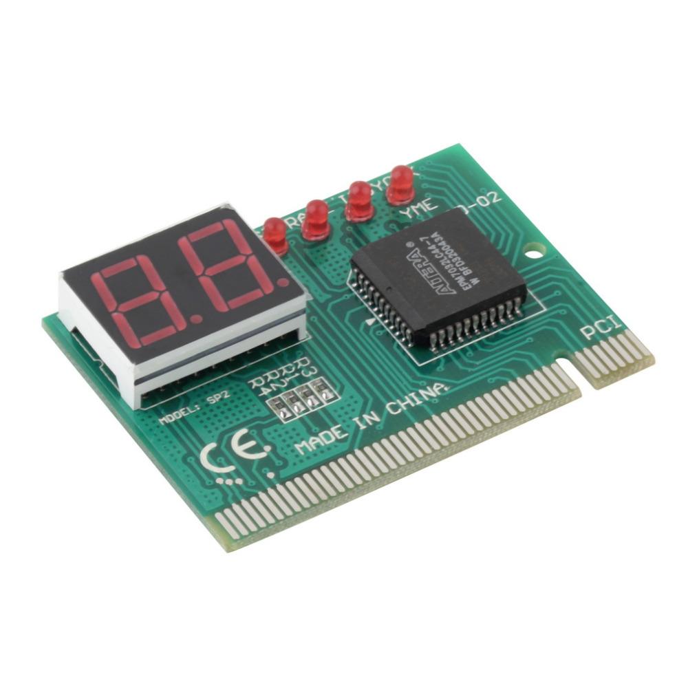 PC PCI Diagnostic Card Motherboard Analyzer Tester Post Analyzer Checker Hot Worldwide(China (Mainland))