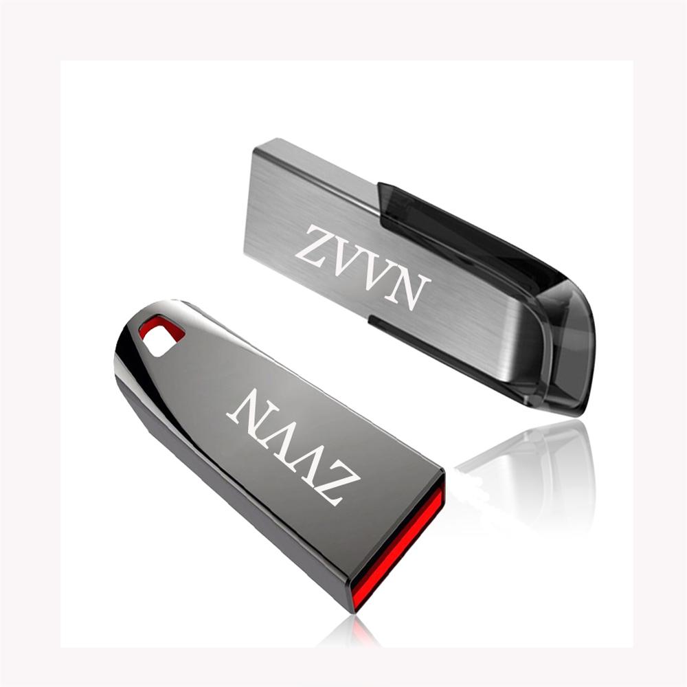 2017 HOT SALE USB Flash Drive 4GB/8GB/16GB/32GB Pen Drive USB Stick 2.0 memory Stick metal Pendrive 64GB U disk for gift key(China (Mainland))