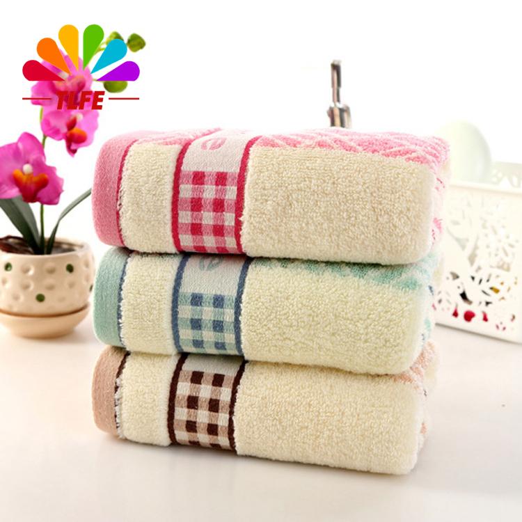 Face Towels 34*73cm New Cotton Beach Fibre Towel Cheap Clean Brand Towel 100% Cotton Compressed Face Towels For Adults 4pcs/Lot(China (Mainland))