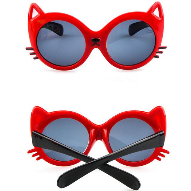 Производители дети в комикс cat животное формы солнечные очки очки для дети