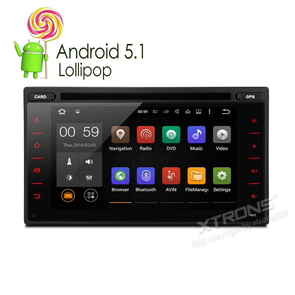 """XTRONS 6.2"""" Android5.1 in dash 2 din Car DVD Player audio HD touch Screen 1080P Video WiFi GPS Stereo OBD2 for Nissan(China (Mainland))"""