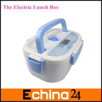 NEW Arrival Car Charger Electric Lunch Box Thermostatic Heated Car Lunch Box Electric Heating Lunch Box