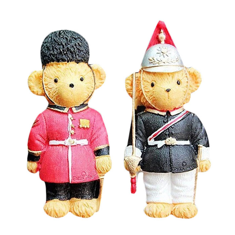 Best seller 2Pcs Resin Small Bear Auto car perfume air freshener Car Air-conditioning Outlet Vent Balm car styling fragance jk8(China (Mainland))
