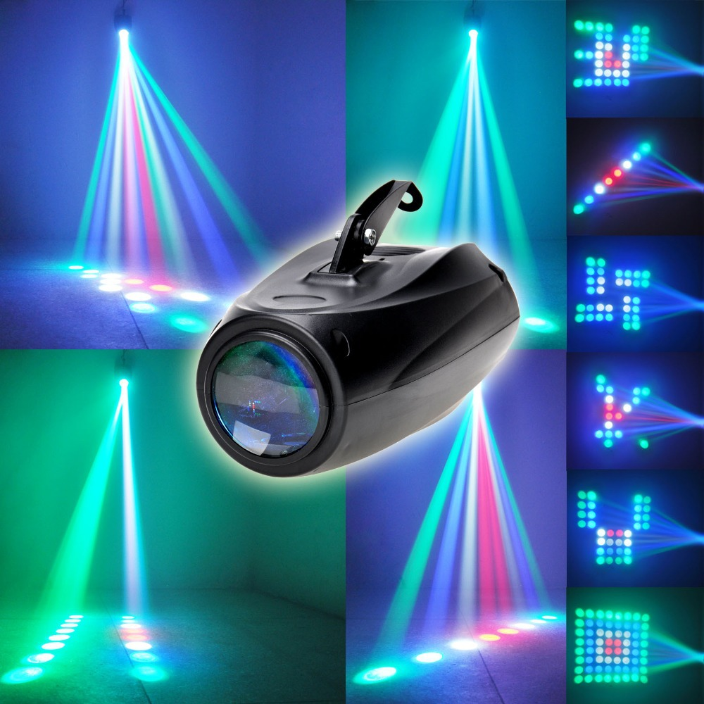Auto/Sound Active 64 LEDs RGBW Light Disco Club Party Show Hundreds of Patterns [XL94](China (Mainland))