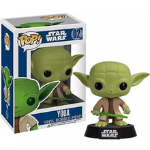 2015 New Star Wars Figures Pvc Toys Jedi Knight Master Yoda And Darth Vader Action Toys 10cm