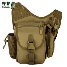 Small Saddle Bag Military Biking Messenger Bag Camera Bag Camouflage Army green A2676~1(China (Mainland))