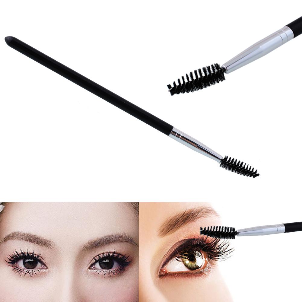 New Multifunction 1Pc Black Spiral Eyelash Mascara Wand Eyebrow Brush Makeup Cosmetic Tool Beauty Essential