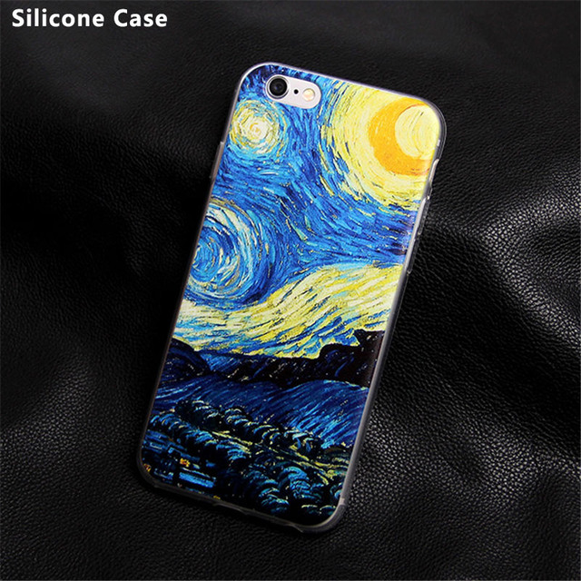 Case iPhone 4/4S/5/5S/SE/5C/6/6S/6Plus/6SPlus/7/7Plus Painting 20+ wzorów