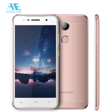 Buy Original HOMTOM HT37 Fingerprint Smartphone MT6580 Quad Core Android 6.0 2GB RAM 16GB ROM 5.0 Inch 1280x720 13.0MP 3G Cellphone for $79.99 in AliExpress store