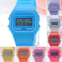 Classic Vintage Digital Rubber Coloured Watch with Alarm Stopwatch Day & Date Function PMHM105