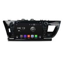A9 HD 1024*600 Quad Core 1.6G CPU 16GB Android 5.1.1 Car DVD Player Radio GPS Navi Stereo for Toyota COROLLA 2014 Right Driving