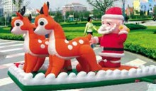 Buy Inflatable Santa Claus 8m for $716.84 in AliExpress store
