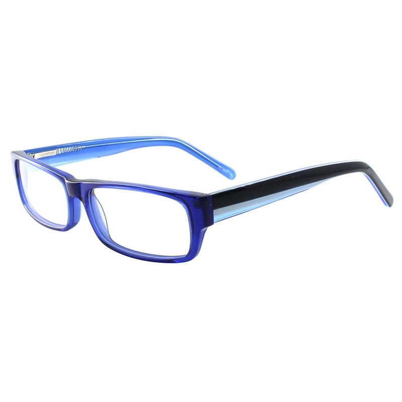 Glasses Frames Blue : JiMei Optical Glasses Blue Acetate Full Rim Prescription ...