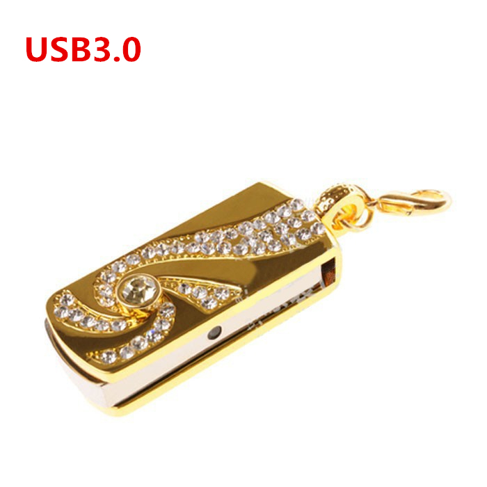 High quality USB3.0 flash drive, 8G.16G.32G.64G. fine jewelry USB, birthday gift, memory stick free delivery(China (Mainland))