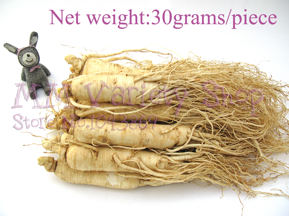 30g/piece 4 years fresh ginseng,Changbai Mountain Dried Ginseng,Insam,Ginseng Tea,Ginseng Root, Organic Herb,Panax,Chinese Herb(China (Mainland))
