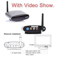 Pat-330 2.4 GHz sans fil AV TV Audio vidéo expéditeur émetteur récepteur pour DVD DVR STB IPTV 150 M(China (Mainland))