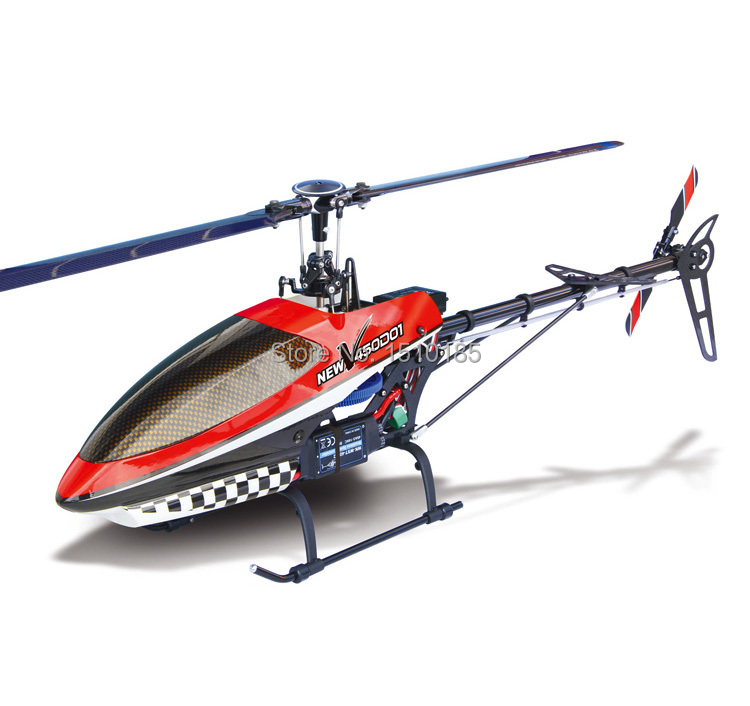 Walkera New V450D01 Helicopter 3D 6CH Flybarless RC Model Helicopter BNF RTF(China (Mainland))