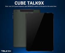 9 7inch Cube U65GT Talk 9X 3G Octa Core Tablet MTK8392 Retina OGS 2048x1536 16GB 32GB