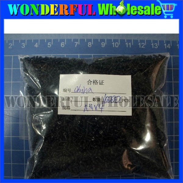 1.4x4.0mm (+)Screws for Samsung Mobile phone,300pcs/lot