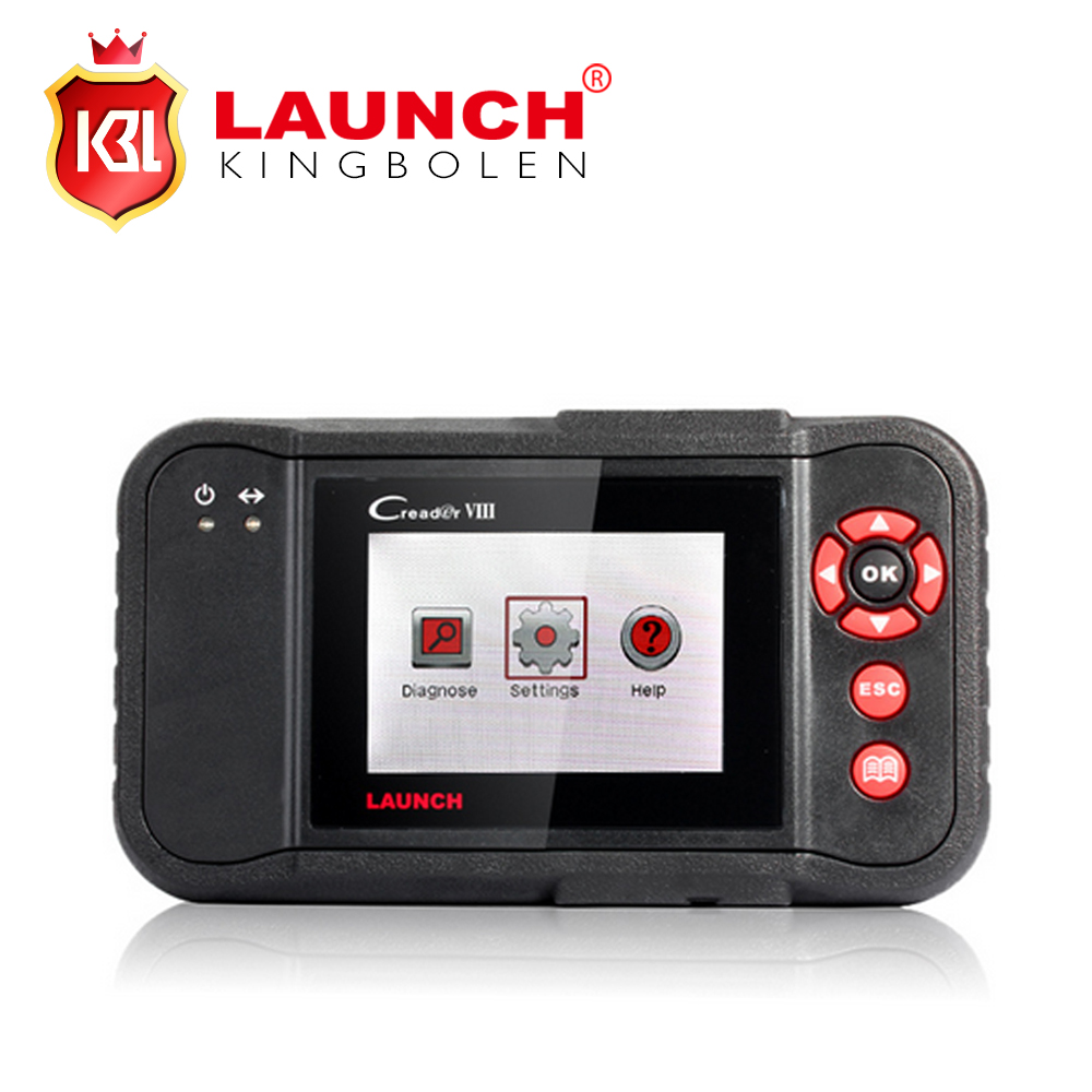 2017 Original Launch CReader VIII Code Reader X431 Creader 8 Support 4 System Engine Transmission ABS Airbag Update Online(China (Mainland))