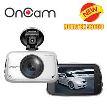 Original Novatek NTK96650 Car DVR Camera OnCam T808 Dash Camera Full HD 1080P Car Camcorder 3.5Inch 170 DegreeG-Sensor Dash Cam(China (Mainland))