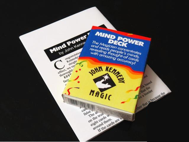 Top Quality Mind Power Deck by John Kennedy - Magic Trick ,Close Up magic props,Stage,Card,Accessories,Mentalism<br><br>Aliexpress