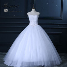 2015 New Luxury Ball Gown Wedding Dresses Sweetheart Lace Pearls Sequins Bridal Dress Vestidos de noiva Tulle LE-161(China (Mainland))