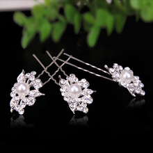 120pc/lot Crystal Clips Hair Pin
