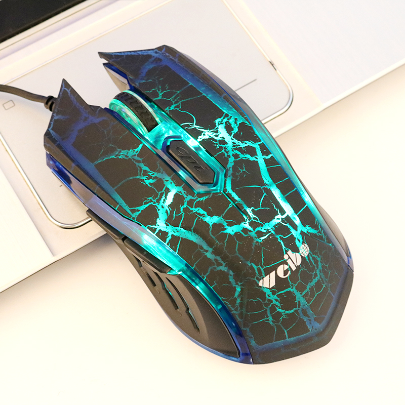 3200DPI Wired Gaming Mouse Ergonomic Computer PC Gamer Raton Mouse Com Fio Professional 3 Led Breathing Lights WB-1620N(China (Mainland))