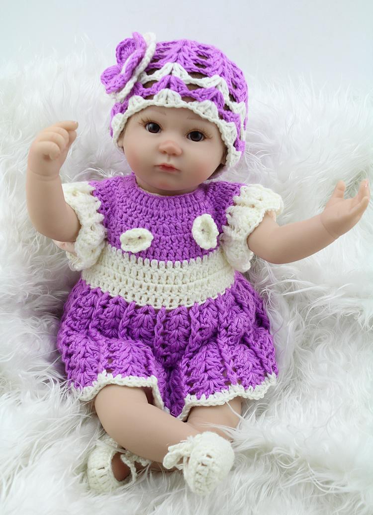 Aliexpress.com : Buy Lifelike Newborn Baby Doll Fashion 17 ...